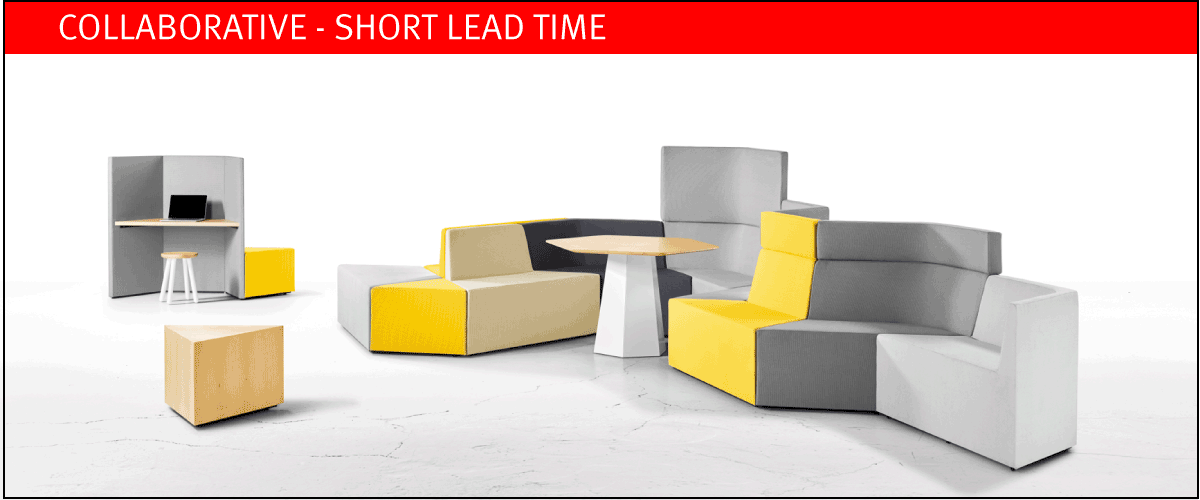 Collaborative furniture on short lead time at designcraft