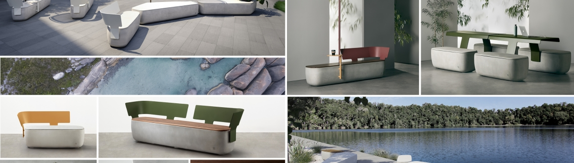 Scape Collection by Tait, Scape designed by Adam Goodrum for Tait