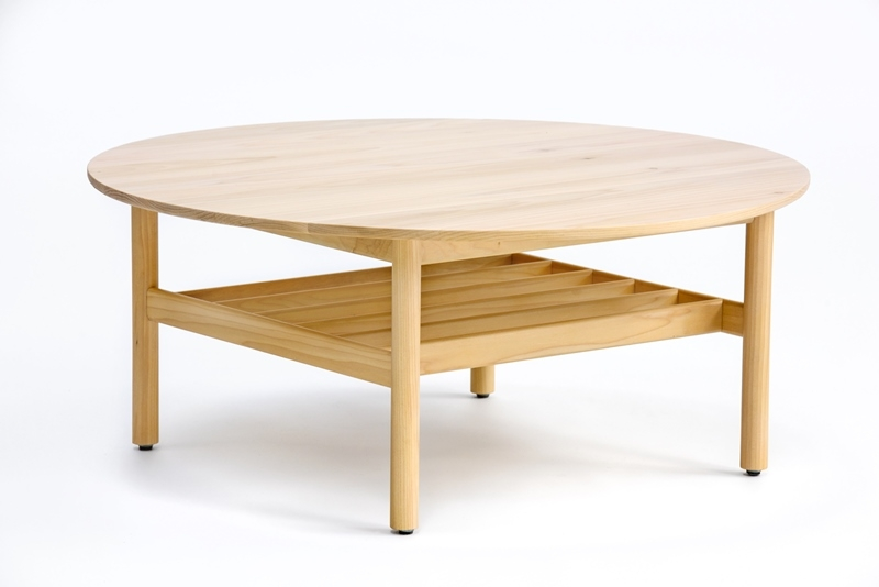 Adam Goodrum coffee table for NAU, Nau Bilgola Table round, Bilgola round coffee table