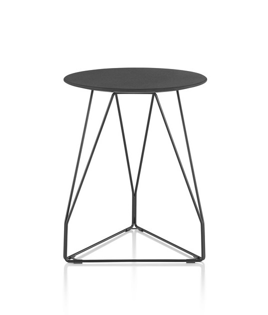 Polygon accent tables designed by Studio 7.5, Herman miller polygon table, Polygon wire tables by herman miller