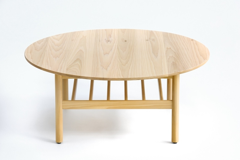 Adam Goodrum coffee table for NAU, Nau Bilgola round Table, Bilgola round coffee table