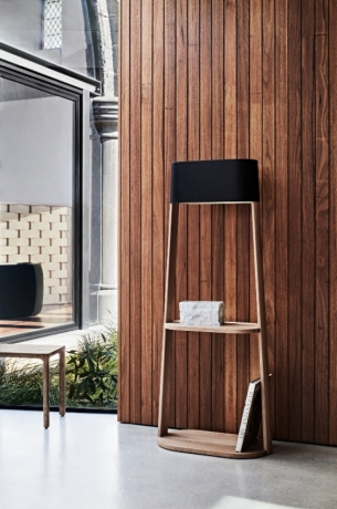Stack winner of the 2018 mercedes-benz design awards, Stack floor lamp designed by zachary hanna for NAU