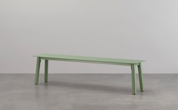 Seam bench seat designed by Adam Cornish for Tait