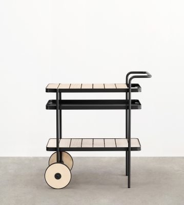 Trace Bar Trolley, Trace Trolley Designed by Adam Goodrum, Tait Trolley