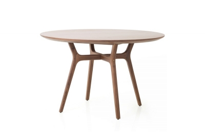 Ren Round Dining Table by Space Copenhagen, Stellar Works Ren round dining table
