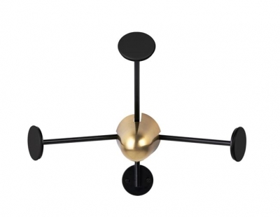 Gubi Matégot coat rack, Gubi wall hanger,  Mathieu Matégot coat hanger for GUBI