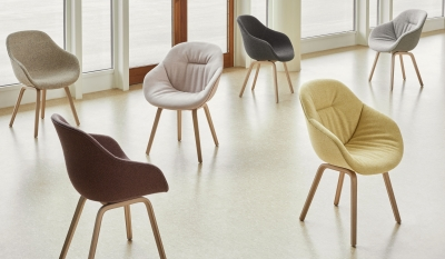 HAY About A Chair 123, AAC123  Soft duo chair, AAC123 designed by Hee Welling