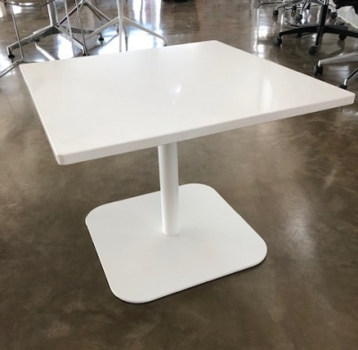 Caterpillar Pedestal table designed by Ross Didier, Didier Caterpillar pedestal table