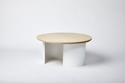Furnished Forever Coffee table, Serra round coffee table by Furnished Forever, Serra table designed by Furnished Forever