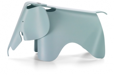 Eames Elephant designed by Ray and Charles Eames, Eames Plastic Elephant, Eames children elephant chair