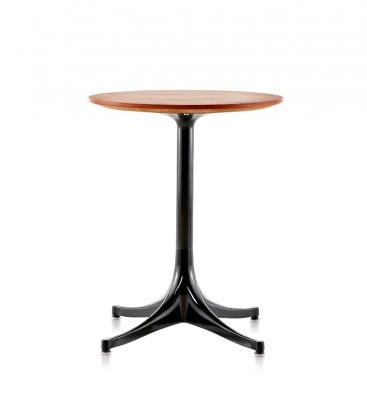 George Nelson Pedestal table Herman Miller, Nelson Side table by Herman Miller