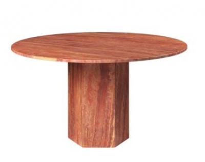 Epic table designed by GamFratesi, Gubi Travertine table, Gubi Marble table designed by Gam Fratesi