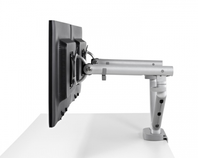 Flo monitor arms, Flo ergonomic monitor support, Herman Miller monitor arms