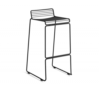 Hee Bar stool designed by Hee Welling for HAY, HAY outdoor bar stool, Hee collection by Hee Welling HAY