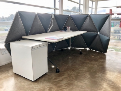 Kivo Screen by Herman Miller, Acoustic Panels for office space by Herman Miller, Room divider by Herman Miller